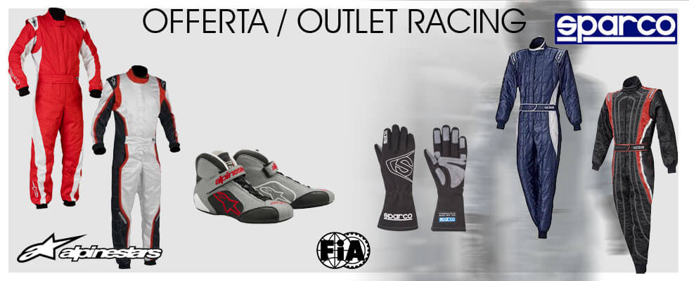 Offerte outlet tute SPARCO
