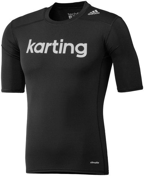 T shirt Kart Adidas Techfit SS