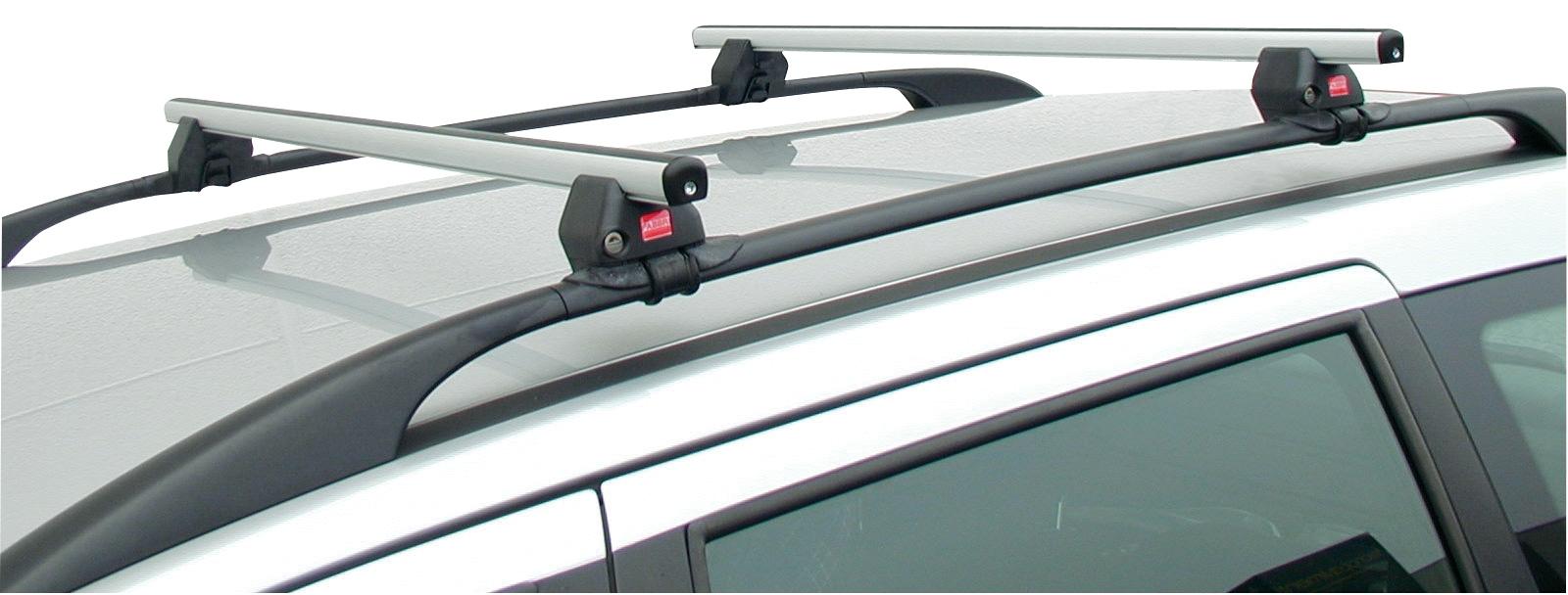Barre portatutto per auto con reling standard corrimano - Barre portatutto universali ikea ...
