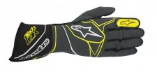 3350117_1045_TECH1ZX_glove_anthracite black yellow fluo