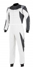 gp-race-suit bianco antracite front